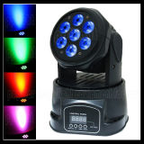 Quad 4in1 7X10W LED Moving Head RGBW Wash Light