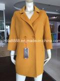 Women Colorful Wool Coat Outwear