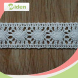 Embroidery African Lace Fabrics Customized Crochet Cord Lace for Garment