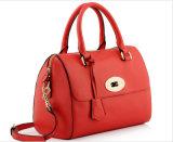 Cow Pattern PU Shoulder Bag Bowling Messenger Handbag
