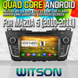 Witson S160 Car DVD GPS Player with Rk3188 Quad Core HD 1024X600 Screen 16GB Flash 1080P WiFi 3G Front DVR DVB-T Mirror-Link Pip (W2-M117)