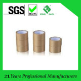 100% Virgin Wood Pulp Ribbed Brown Kraft Paper Rolls Tape