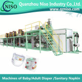 Semi Servo Automatic Baby Diaper Machine Ynk450-Hsv