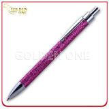 Customized Design Click Style Glitter Metal Ball Pen