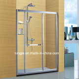 Custom-Made Size Aluminum Shower Cabin Shower Screen (A-871D)