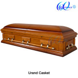 Mahogany Veneer MDF Chinese Cheap Casket and Coffin