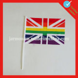 Double Sided Printing Paper Hand Waving Flag
