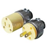 South America Travel Power Adapter Adaptor Switch Socket Plug (Rj-0015)
