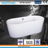 Seamless Round Edge Quality Acrylic Freestanding Bathtub (WTM-02507)