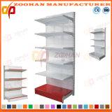 Single Side Iron Supermarket Hole Back Display Wall Shelves (Zhs559)