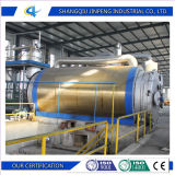 Continuous Oil Refinery Plant From Waste Tyre Plastic and Rubber