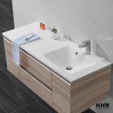 Luxury Design Solid Surface Bathroom Cabinet Basin