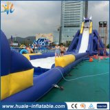 2016 Outdoor Hippo Commercial Giant Inflatable Water Slide for Adult with Pool