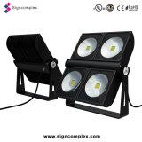 90W 150W 180W 200W 300W 350W IP65 Bridgelux High Power COB LED Floodlight