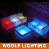 LED Glow Restaurant Hotel Cafe Leisure Sofa