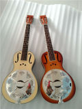 BV/SGS Certificate Supplier---China Aiersi Stock Wooden Body Parlor Resonator Guitar