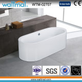 Oval Fashion Cool Graceful Free Standing Acrylic Bathtub