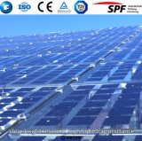 3.2mm/4.0mm Tempered Low Iron Ultra Clear Solar Glass with ISO SGS SPF TUV