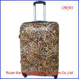 PC Leopard Hard Shell Trolley Luggage Suitcase