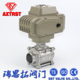 Stainless Steel Floating Welding 3PC Ball Valve with Electric Actuator
