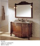 Oak Wood Furniture Bathroom Cabinet (13075)