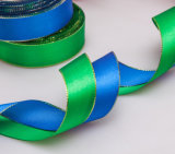 2.5cm Wide Gilt-Edged Gift Packaging Ribbon