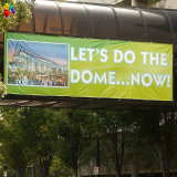 Custom Digital Printing Outdoor Advertising Street Hanging Wide Banner