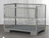 Heavy Duty Powder Coating Wire Cage Storage Container Box