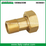 European Quality Brass Forged Water Meter Nipple (AV9090)