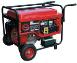 3kw Small Portable Gasoline Generator with Wheels and Handles