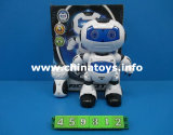 New Remote Control Dancing Robot Plastic Toy (459312)