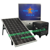 PF Sine Wave Inverter Solar Power System with 200W/36V Solar Panel and 12V/100ah*2PCS Battery