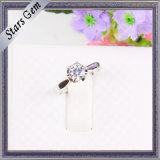Beautiful New Style 925 Silver Halo Fashion Jewelry Ring