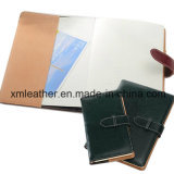 Business A5 Leather Cover Diary Journal Notebook for Promotion
