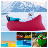Quality Nylon Ripstop Inflatable Air Sleeping Sofa Lazy Bag Lounges