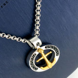 Wholesale Vogue Stainless Steel Punk Hollow out Cross Pendant