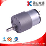 37mm 12volt 24volt Micro Gearbox Carbon Brush Gear Motor