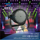3W*54PCS LED Waterproof RGBW PAR Stage Light