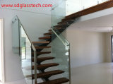 3-19mm Polished Tempered/ Toughened Glass with Ce SGCC