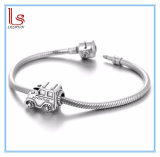 Silver Beads Vintage Car for European Bracelet