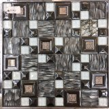 Glass Mosaic for TV Wall, Border Decoration (M655002)