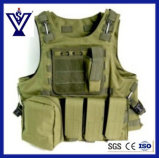 Army Green Military Gear Tactical Vest (SYSG-223)