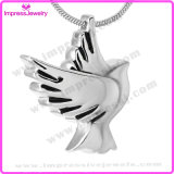 Fashion Stainless Steel Cremation Pendant Necklace Urn Jewelry (Dove)