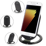 Qi Standard 2 Coils Charging Pad Stand Phone Holder 9V 1A Output Fast Wireless Charger