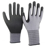 Nmsafety Thin Micro Foam Nitrile Palm Coated Smart Phone Touch Screen Glove