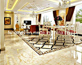 6b6019 3D Full Polished Glazed Marble Floor Tile