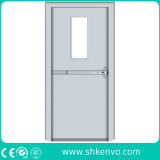 UL Certified Fire Rated Glazed Metal or Steel Exit Door