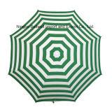 Outdoor Promotion Manual Open Beach Umbrella with PVC Bag