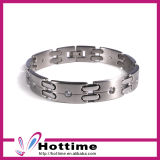 2017 Hot Sales Stainless Steel Ion Power Magnetic Bracelet (CP-JS-BL-143)