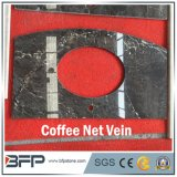 Natural Stone Chinese M129 Coffee Net Vein Marble Countertop